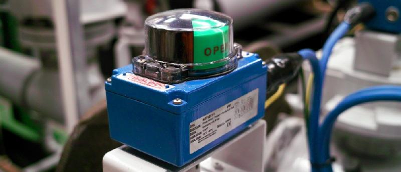 Intrinsically safe limit switch boxes